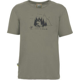 E9 Living Forest T-Shirt Uomo, grey